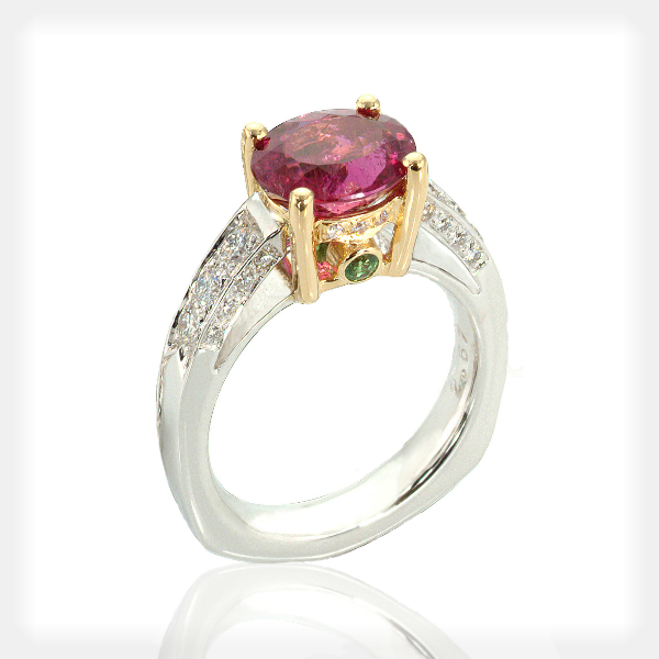 Women's Accented Gemstone Rings by Philip Zahm