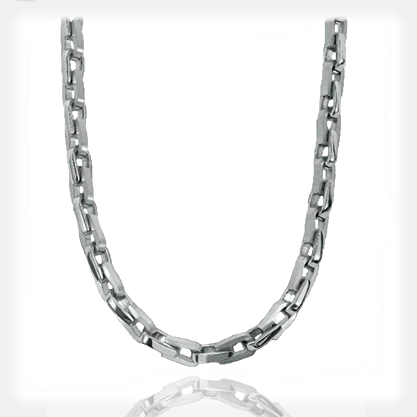 Men's Stainless Steel Bike Link Necklace by Triton