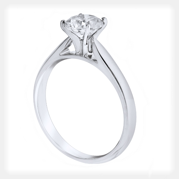 Elegant Solitaire Engagment Ring by Vibhor Gems