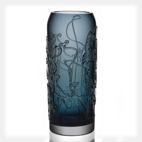 Twine Vase, Large Grey
